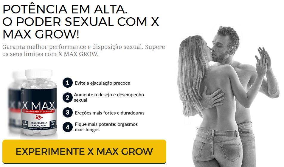 estimulante sexual x max grow